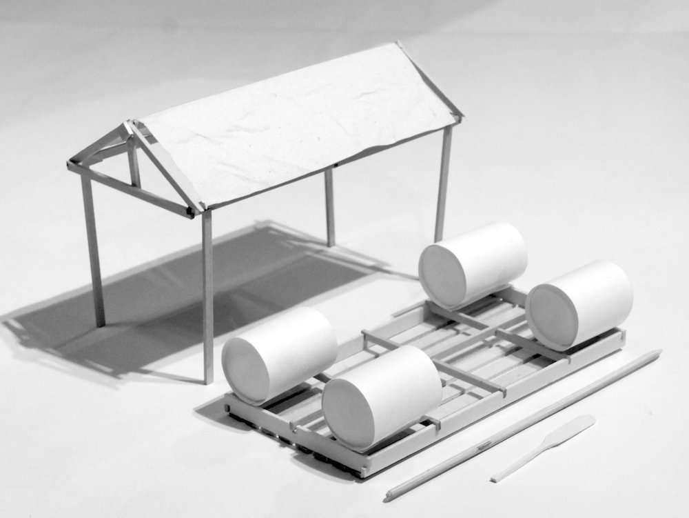 model disassembled