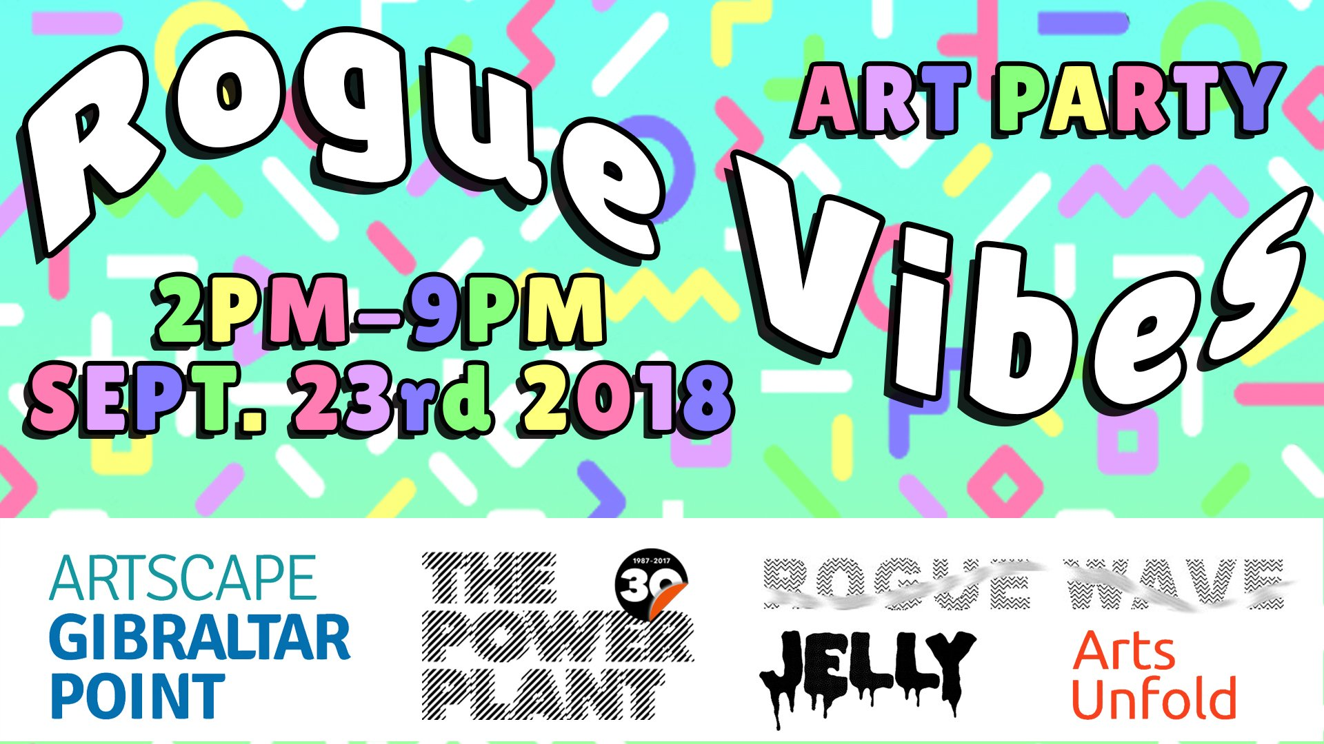 Rogue Vibes Art & Dance Party