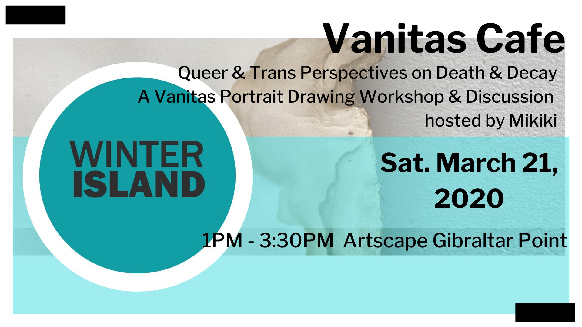Vanitas Cafe: A Vanitas Drawing & Discussion Workshop